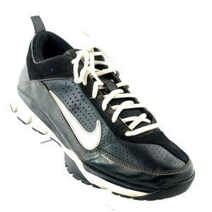 Nike Air Shoes US 8 Black White Trim 414821-011